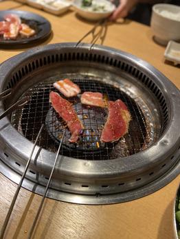 大好きな焼肉!